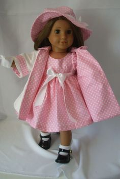 American Girl Doll Cloths Fit American Girl Doll Molly Kit Jess Emily McKenna | eBay