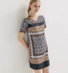Sukienka+we+wzory