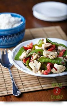Chicken with Basil and Chilli