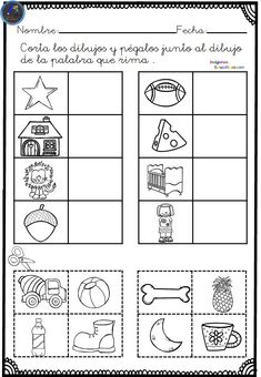 Spanish Lesson Plans, Spanish Lessons, Short Stories To Read, Pre K Activities, Phonological Awareness, English Tips, Reading Stories, Baby Education, Word Study