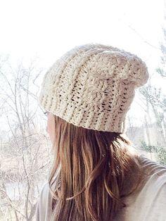 Crochet Hat Pattern Crochet Pattern Winter Woven Crochet Hat