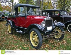 1920 ford red trucks | 1927 Model T Ford Pickup Royalty Free Stock Photography - Image ...