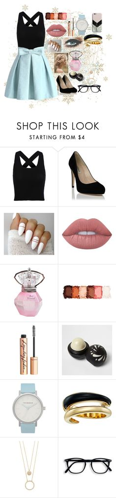 """Nevaeh"" by sam-goodie22 ❤ liked on Polyvore featuring Chicwish, Lime Crime, NYX, Charlotte Tilbury, River Island, The Horse, Michael Kors, Kate Spade and Harper & Blake"