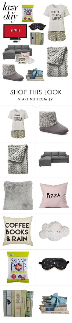 """""""Lazy day essentials"""" by greta-buechel ❤ liked on Polyvore featuring SONOMA Goods for Life, Serena & Lily, A by Amara and DENY Designs"""