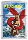 Zippo Playboy August 1972 Cover Satin Chrome Windproof Lighter NEW RARE