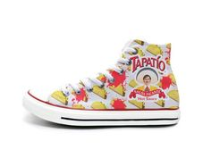 Tapatio Taco Emoji Chucks