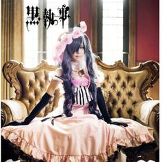 Japan Anime Black Butler Kuroshitsuji Ciel Cosplay Costume Dress Lolita Custome #Uniform