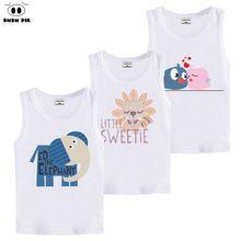 f0e18cf58b4 DMDM PIG Teenage T Shirts Baby Girl Clothes T-Shirts For Boys Girls Tops  Kids