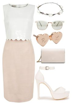 """Romantic Day"" by mode-222 ❤ liked on Polyvore featuring Hobbs, Merci Maman, Nly Shoes, Calvin Klein and Lipsy"
