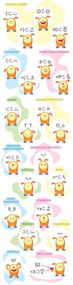 Emoticons Erklärt