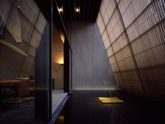 wood / berg by kengo kuma  Nice colors. Would love to have this as the color scheme for my dream home.