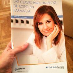 Todo un honor que @a5farma mencione mi blog en su libro. Muchas gracias Gema!! #blog #exito #farmacia