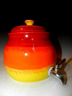 1 gallon kombucha crock Ready to ship by MarkCampbellCeramics