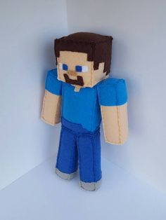 Check out this item in my Etsy shop https://www.etsy.com/listing/256308611/minecraft-steve-stuffed-plush-unofficial