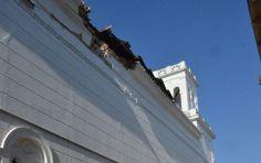 Ναύπλιο: Κατέρρευσε η σκεπή του Αγίου Νικολάου