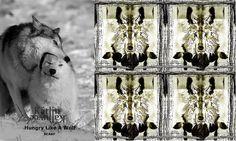 Hungry Like a Wolf scarf / size: 110x110cm / 100% silk / find us from facebook: https://www.facebook.com/artistkatlinkaljuvee