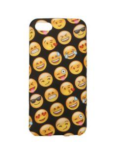Emoji Faces Anti Shock iPhone 5c Case