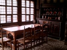 Traditional German Family Dining Room