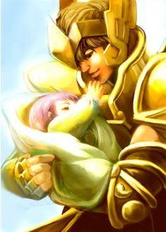 Aiolos e o Bebê Atena