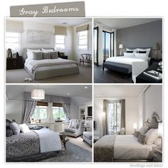 Gray Bedroom Decoration Ideas