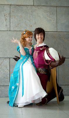 Fabulous Edward x Giselle Disney Cosplay by berrytan.deviantart.com; Cosplay & Costumes