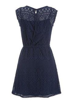 short sleeve crochet dress - maurices.com