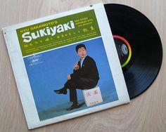"Kyu Sakamoto ""Sukiyaki And Other Japanese Hits"" Vinyl Record LP 1960's J-Pop Rock"