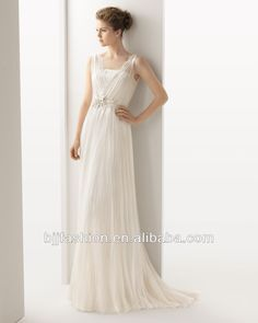 2014 lovely Pure White Bridal Wedding Dresses