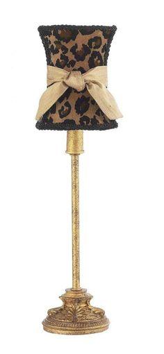 Leopard Print Floor Lamp