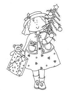 Christmas Girl dearie dolls - Google Search