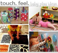 Activities for baby - sensory