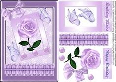 Beautiful Soft Lilac Card Front