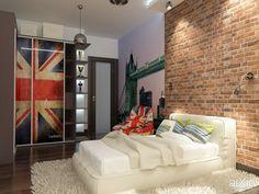 Лондон, как идея: интерьер, хай-тек, квартира, дом, детская комната, 20 - 30 м2 #interiordesign #hitech #apartment #house #nursery #20_30m2 arXip.com