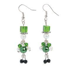 Pearl Leprechaun Earrings Craft Kit $8.25 makes 6 Pairs OrientalTrading.com