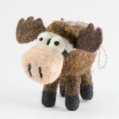 Woolbuddy Moose Needle Felting Kit at Lila Mae