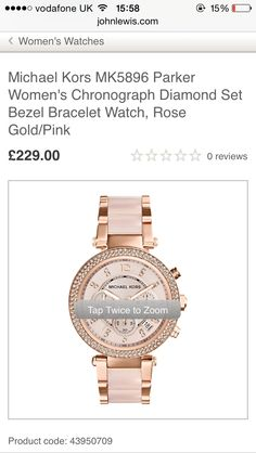 X Rose Gold Pink, Michael Kors Watch, Chronograph, Bracelet Watch, Watches, Diamond, Bracelets, Accessories, Women
