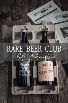 The Rare Beer Club Gift Subscription