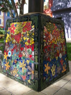 Things we covet: the colorful, ceramic artwork by Gary Fonseca at Miami Children's Hospital.