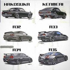 Nissan Gtr R34, Nissan Skyline Gt R, Skyline Gtr, Nissan Gtr Godzilla, Tuner Cars, Jdm Cars, Subaru Impreza 22b, Japan Cars, Modified Cars