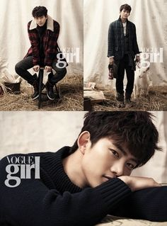 Taecyeon turned into a gentleman. More: http://www.kpopstarz.com/articles/50024/20131122/2pm-taecyeon-vogue-girl-photo-shoot.htm