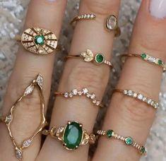 Hippie Jewelry, Dainty Jewelry, Cute Jewelry, Jewelry Accessories, Jewelry Design, Hippie Rings, Unique Jewelry, Trendy Jewelry, Hippie Boho