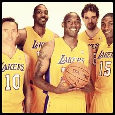 These are our new-look Los Angeles Lakers!