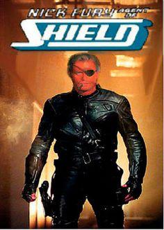 Vic Marrow as -Colonel Nick Fury.Nick Fury became Colonel Nick Fury. Cigar Men, Fantasy Comics, Nick Fury, Marlon Brando, Superhero Movies, Popular Movies, Marvel Heroes, Marvel Comics, Music Tv
