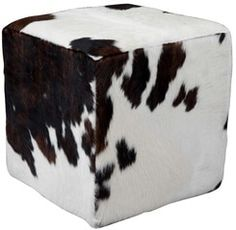 Dining Room Chairs, Club Chairs, Cowhide Furniture, Cow Skin, Cube, African, Design, Vintage Dining Chairs, Dinner Chairs
