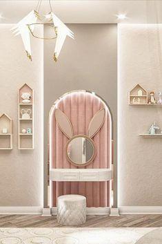 Girls Room Design, Kids Bedroom Designs, Room Design Bedroom, Home Room Design, Bedroom Decor, Luxury Kids Bedroom, Kids Bedroom Furniture, Girl Room, Decoration