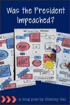Are your students confused about impeachment? Well, they aren't alone! Read this post to learn how to use my doodle flow chart to help your middle and high school students determine whether or not a President was impeached. Teacher Jokes, Best Teacher, School Teacher, Teaching Government, Crimes And Misdemeanors, Tools For Teaching, Secondary Teacher, School Grades, History Education