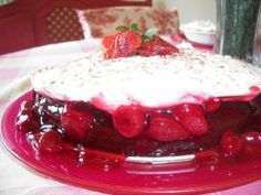 Chocolate Covered Strawberry Cake ~ What's Cookin' in the Parsonage?   RefreshHer