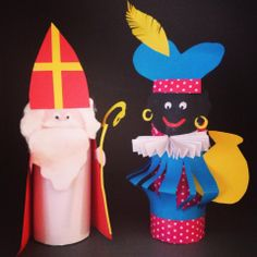 WC rol kunst voor kinderen ;) Fall Crafts, Diy And Crafts, Paper Crafts, Toddler Fun, Toddler Crafts, Diy For Kids, Crafts For Kids, St Nicholas Day, Types Of Craft