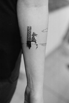 Such a cool, fun and different idea for a tattoo.