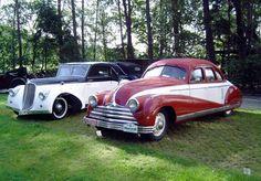 Tatra T52 Sodomka 1934,  Tatra T75 Linie Tousek 1938. Vintage Cars, Antique Cars, Old Cars, Race Cars, Dream Cars, Cool Photos, Classic Cars, Soviet Union, Vehicles